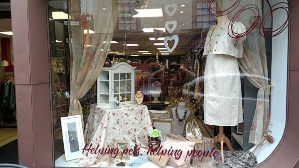 Our charity shops